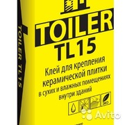 Клей для плитки TOILER