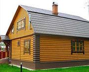 Блок хаус сосна для зовнішніх та внутрішніх робіт Одеса